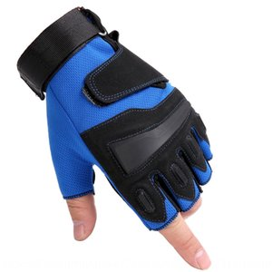 PDx3h Colored eagle men's and Women's Fitness Cycling outdoor half finger breathable anti-slip weightlifting Bicycle gloves and gloves hande