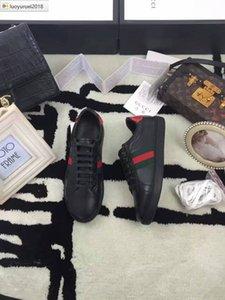 İyi Ace İşlemeli Çizgili Kutusu Sneakers Elbise Ayakkabı Skate Dans Balerin Flats Loafers Espadrilles takozları