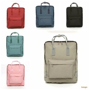 Student School Bags Unisex Couple Canvas Bag Backpack Men And Women Handbags Shoulder Bags Storage Bags Multiple Colors Optional BC BH0785