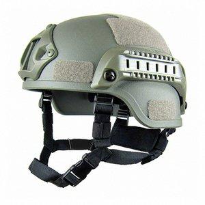 Taktik Kask Açık Taktik Painball CS SWAT Riding var olmadı HIZLI Kask MICH2000 eHnc # Ekipmanları HAFİF koruyun