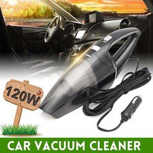 120W 12V 휴대용 자동차 진공 청소기 습식 및 건식 듀얼 사용 자동차 담배 라이터 휴대용 미니 진공 청소기 슈퍼 흡입