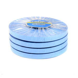 36yards Lace Front Support Tape Blue Liner Roll Tape For Lace Wig PU Hair Extension Toupee Hair Glue Wig Adhesives 0.8cm 1.0cm 1.27cm width