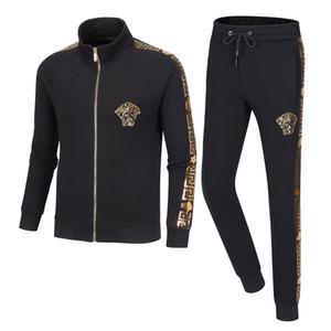 2020 new alphabet sportswear men's sportswear autumn fashion sportswear long-sleeved casual jogging pants suit clothing M-3XL