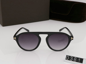 2019 New Fashion ford Sun For Man Woman Square tom Lenses With Sunglasses Designer UV400 round box Trend Glasses Eyewear Sunglasses TF0 Uoid