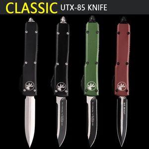 Microtech classicUTX 85 coltello automatico tasca coltello Coltelli da tasca tattici micro coltelli carburo di tecnologia per rompere classe