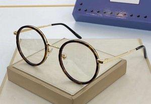 سلحفاة الذهب جولة نظارات إطار نظارات عدسة واضح 48-21-145 0679OA كاملة ريم البصرية الإطار أزياء النظارات الشمسية مع صندوق