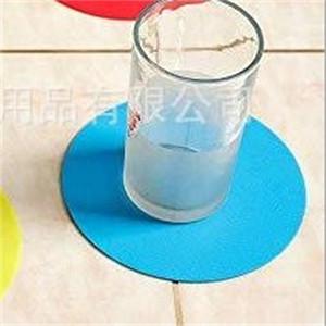 Rund Wasserflasche Mats Non Slip Cup Coaster Wärmeisolierung Kaffeetisch Tumbler Pad Silikon Friction Bottom Platzdeckchen Milch 1 2HX C2