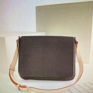 M51257 NAVERFULL CROSSBODY كلاسيكي حقائب المحافظ الأوسط العمر الصليب حقيبة الجسم المرأة رسول حقيبة مونو أزياء المرأة حقائب الكتف