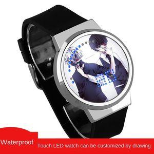 waterproof touch kongsu LED Ghoul waterproof touch watch Tokyo kongsu Tokyo Ghoul LED watch