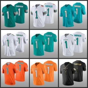 MiamiDolphinsdo Aqua 2020NFL Draft Vapor limitada Tua Tagovailoa Homens Mulheres Juventude Jersey