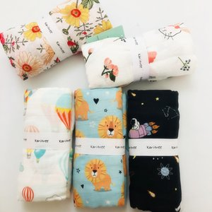 120cm baby swaddle baby muslin blanket quality better than Aden Anais Multi-use cotton bamboo Blanket Infant Wrap