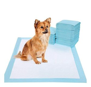 DHL 20pcs Pet Dog Cat Diaper Super Absorbent House Training Pads for Puppies Polymer Quicker Dry Pet Pads Healthy Clean Wet Mat ppshop01 QbJ