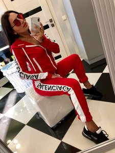 4 Colors New Women Tracksuit Striped Yoga Set Hooded Crop Top High Waist Pants Sportswear 2 pcs Sport Suit Sweatshirt Pants Jumpsuit