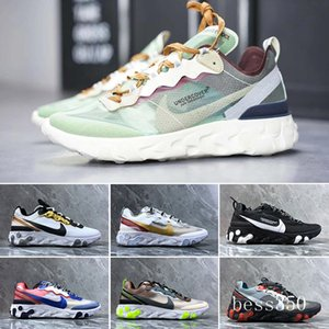 DLX ATMOS 1 87 Parra Sean wotherspoon Air Blue Mens casual Shoes Animal Pack 1s 87s Leopard Classic Athletic Women Sneakers Trainers JNH9K