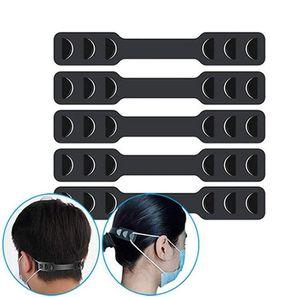 Face Mask Hook Extenders Mask Elastic Strap Adjuster Protect Break Away Pain Mask Belt Hook Adjustable Ear Strap Extension IIA379