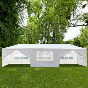 10'x30' Outdoor Gazebo Überdachung-Zelt Hochzeit Zelt Terrasse / w 8 Abnehmbare Wände