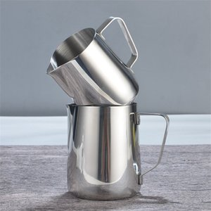 Stainless steel Milk frothing jug Espresso Coffee Pitcher Barista Craft Coffees Latte Milks Frothings Pitcher New Arrival 15mg4 L1