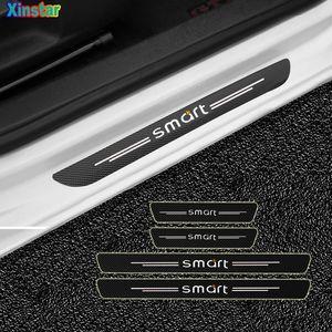 Automóveis Motos 4pcs Car Protector do peitoril da porta adesivos para Smart Fortwo Forfour Forjeremy adesivos de carro