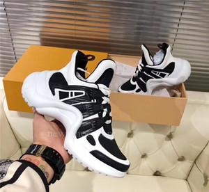 Louis Vuitton LV shoes Neue Entwerfer der Frauen der Männer Schuh-Turnschuhe Archlight Old Dad Turnschuh Bogen gehendes Kleid Schuhe Xshfbcl Chaussure Größe 36-45