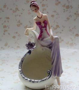 Resin crafts beautiful mirror   jewelry box home decor gift ideas