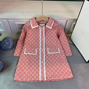 Toddler Kids Baby Girl Clothes Autumn Winter Trench Outerwear Coat Wind Jacket Outerwear Parka Overcoat