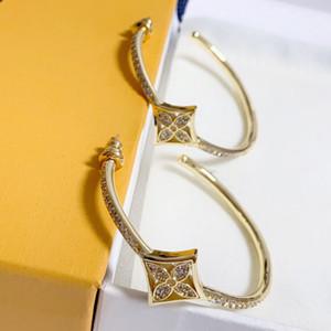 2020 neue Art und Weise zu verkaufen Kreis der Frauen Diamant-Ohrringe