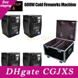 Impilabile 4in1 Flight Case pack Cina effetto di fase fredda Fireworks Macchina DMX512 (wireless opzionale) No Fire Spark attrezzature