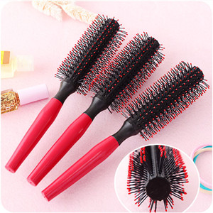 1 Pack Comb Hair Brush Hairdressing Brushes Curly Plastic Handle Styling Barber Combo Pocket Long Round Holder Good Looking Popular zujDukyJ
