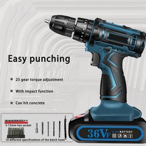 340W Taladro 2800 rpm eléctrico Destornillador del metal mini taladro Herramientas Destornillador eléctricas de bricolaje Home Py4C #