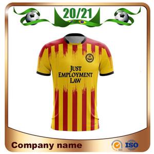 2021 Partick Thistle Home Soccer Jersey 20 21 Joe Cardle Zak Rudden Brian Grah Alex Jones Bannigan Docherty Soccer shirt Short sleeve Footba