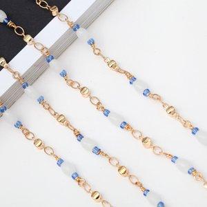 perles de cristal de la chaîne de perles de mode de haute qualité chaîne main presbytes lunettes de presbyte lunettes antichaîne