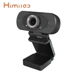 Xiaomiyoupin Imilab كاميرا ويب Full HD 1080P فيديو كاميرا ويب كاميرا مع ميكروفون التوصيل والتشغيل USB الكمبيوتر المحمول مراقبة كاميرا الويب مع ترايبود