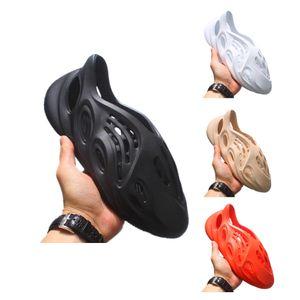 Best quality 2020 new kanye west Summer Beach slipper foam runner hole Slides Bone sandal womens mens shoes travis scott shoes size 36-45