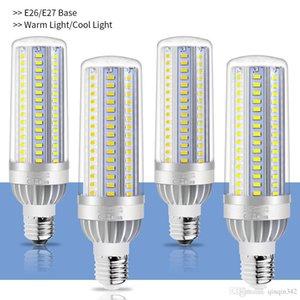 5730 아니 깜박임 빛을 냉각 높은 전원 LED 옥수수 빛 E27 LED 램프 25W 35W 50W 캔들 전구 110V E26 알루미늄 팬