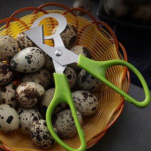 Pigeon Quail Egg Scissor inoxidável ovos pássaro de aço cortador Opener Slicer cozinha dona de casa Ferramenta Clipper Accessoriy Gadget Conveniência LJJP110