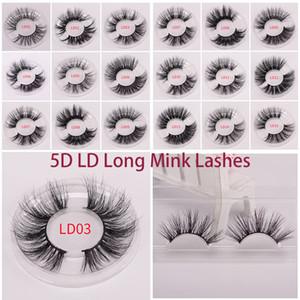 25MM جلدة 3D لينة 100٪ المنك الشعر الرموش الصناعية طويل Wispies متعددة الطبقات منفوش رموش الإضافات اليدوية ماكياج قابلة لإعادة الاستخدام 5D جلدة