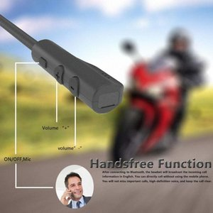 MH04 Bluetooth 5.0 Motor Sturzhelm-Kopfhörer drahtloser freihändiger Stereokopfhörer-Motorrad-Sturzhelm-Kopfhörer MP3-Lautsprecher GmRf #