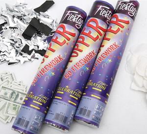 2020 venta caliente suministros escena de fuegos artificiales tubo de fuegos artificiales de alta calidad al por mayor de la boda boda celebración pétalos lluvia de fuegos artificiales de regalo 30cm
