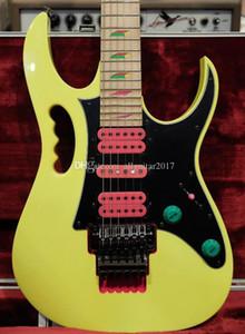 Rare Steve Vai 30-летие JEM 777 Desert Yellow Electic гитара ограничено коллекторного издание 2017 Китай гитары
