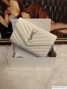 Free shipping 2020 New handbag Cross Pattern Synthetic Leather Shell Chain Bag Shoulder Messenger Bag Small Fashion Trend NO BOX 233