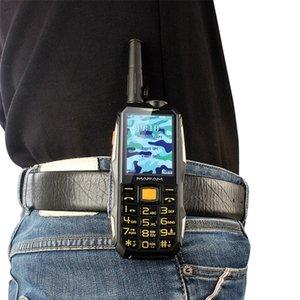 Unlocked Dual Sim Card Rugged Shockproof Outdoor Mobile Phone UHF Hardware Intercom Walkie Talkie Belt Clip Powerbank Facebook Cellphone