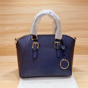 shoppingbag superiore marca di alta qualità nuovo genuino nero strisce in pelle borsa delle signore borsa tracolla messenger messenger
