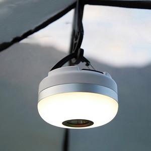 Acampar al aire libre que acampa ligero de Equipo Dual-Mode Iluminación del camping de la lámpara de múltiples funciones largo tiempo tienda portable de la Luz