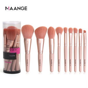 MAANGE New 9 Pcs Makeup Brushes Set Soft Foundation Powder Blending Eyeshadow Brush Facial Cosmetics Tools Beauty Makeup Kits