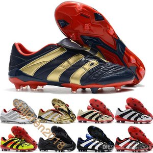 2019 Predator Accelerator Precision FG Soccer Cleats For Beckham 25th Mens Shoes Outdoor Firm Ground Football Boots Trainers Size 39-45