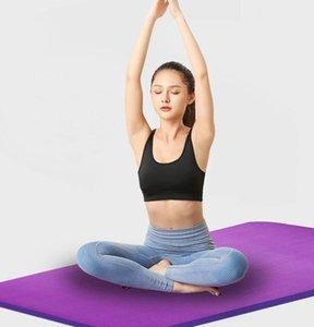 ExtraThick Женщины высокой плотности Anti-Tear упражнения йоги Коврики для пилатеса NBR Non-Slip Нет пластиковый вкус Беременные женщины Yoga Mat