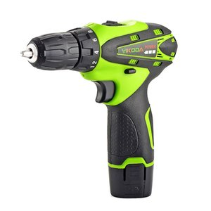 12V Household Electric Screwdriver DIY Lithium Power Tools Drilling Hole Fasten Screws Multi-function Hand Cordless Drill