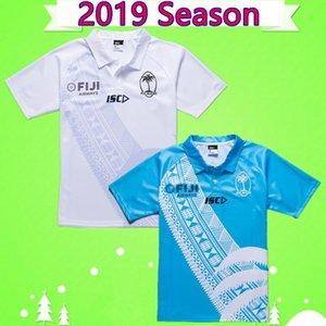 2019 Фиджи Hurricane крестового Хайленд Главного Блюз Супер Регби NRL Jersey.Mustang дом вдали 19 20 взрослых мужской рубашки костюм белых синий