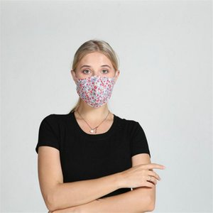 2020 new Designer Face Mask Luxury Mask Washable Dustproof Riding Cycling Sports Floral Print Fashion Masks for Men and Women DHL