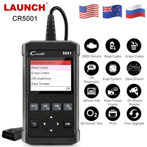 X431 CR5001 OBD2 Tarayıcı I / Motor İçin ODB2 Araç Tanı Aracı Ücretsiz Güncelleme Otomotiv Scanner M Oku Temizle Arıza Kodu